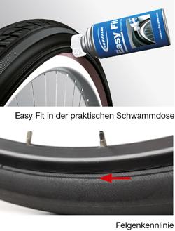 Fahrradreifen mantel eiert