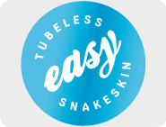 Tubeless easy SnakeSkin