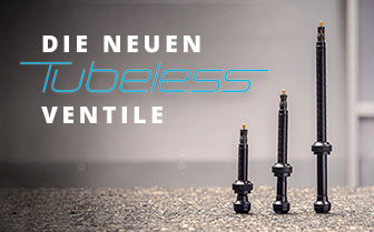 Die neuen Tubeless-Ventile: Tubelessmontage – noch einfacher gemacht
