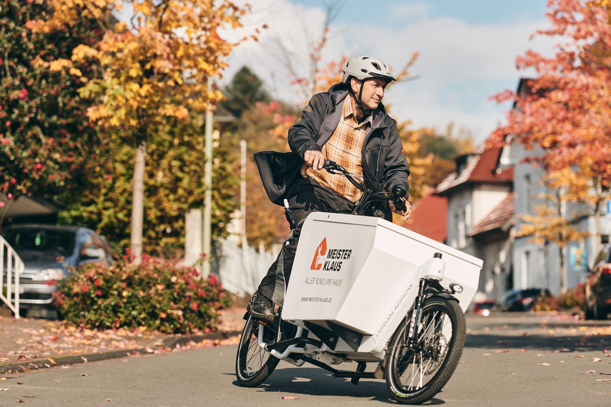 Tragfähig und Pannensicher für das Cargobike